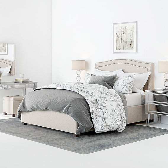 Furniture Visualization - Pottery Barn Tamsen Bedroom set