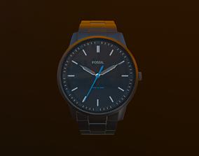 3D model hand watch Fossil
