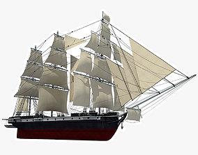 3D Sailing Ship vessel