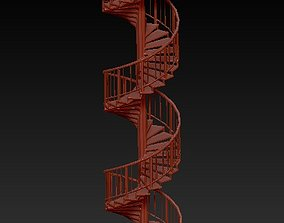 3D print model stairs