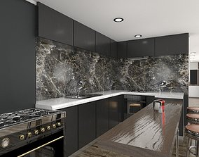 3D model realtime Bath - Bar - Kitchen and More