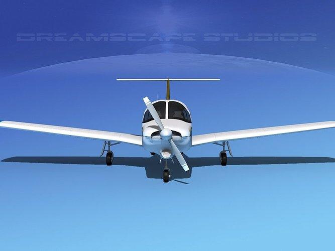 piper-turbo-arrow-iii-v01-3d-model-rigge
