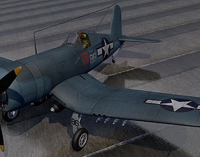 Chance Vought F4U-1D Corsair 3D