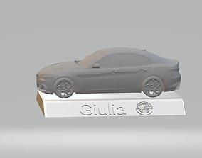 ALFA ROMEO GIULIA CAR 3D PRINTING STL FILE