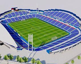 Coliseum Alfonso Perez - Getafe FC 3D asset