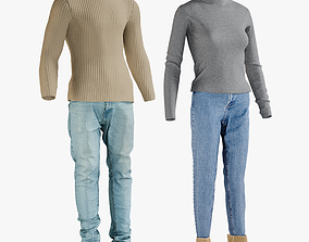 3D Mens and Womens Clothing Collection 5