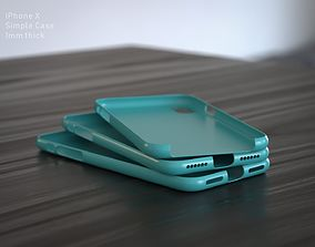 3D print model IPhone X Case