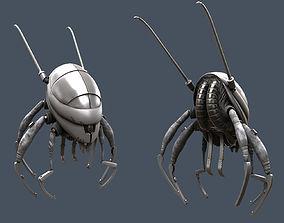 Flea Bot 3D model