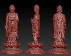 Buddha statue pendant 3D print model