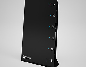 3D model CGAxis WiFi Router 02