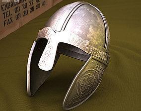 3D Embossed Viking Helmet