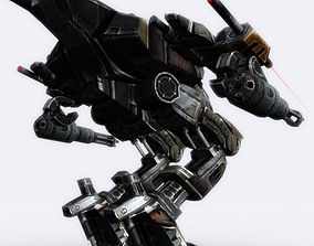 Mech walker - 02 3D model