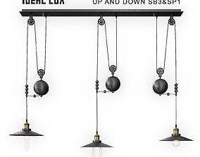 3D model Ideal Lux Up and Down SB3 and SP1