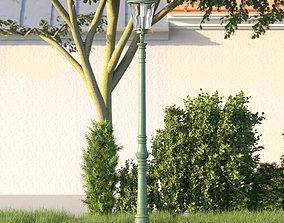 3D model vienna public street lamp