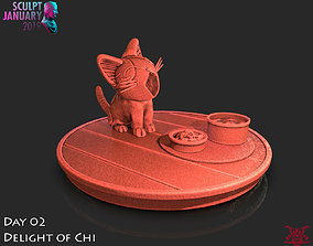 Delight of Chis Timelapse and Model