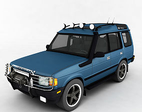 3D asset Car low-poly Discovery 2