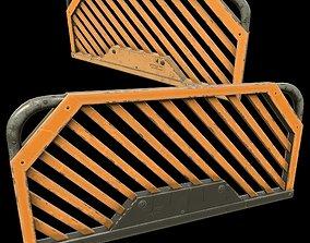 3D asset handrail concept