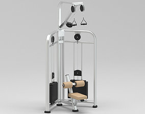 3D model GYM Pull Down