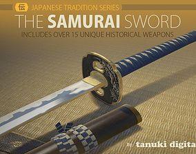 The Samurai Sword 3D asset VR / AR ready