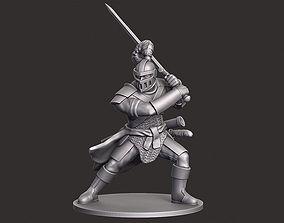 3D print model Human Knight Miniature