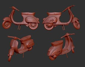 3D printable model Vespa 50s