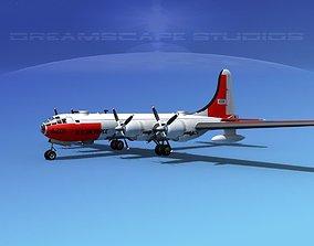 3D Boeing B-50 Superfortress V04