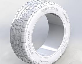 3D model bridgestone RE71 tires