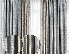 Curtain Set 122 3D