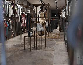 scene clothes shop 3D