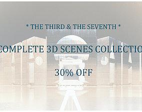 3D model TS EXTERIORS plus INTERIORS Collection 30-OFF