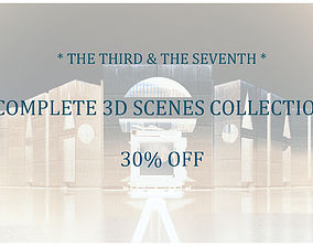 3D model TS EXTERIORS plus INTERIORS Collection 30-OFF