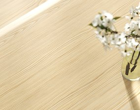 Pine wood veneer texture 3D model