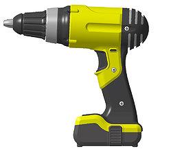 3D model Driller