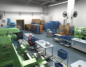 Factory Workshop 3D