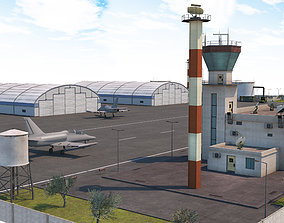 Military Airport - Scene model realtime