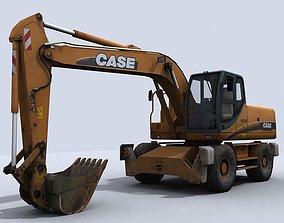 Excavator 3D model game-ready