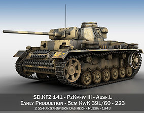 PzKpfw III - Ausf L - 223 3D