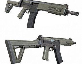 IA2 Assault Rifle 3D asset
