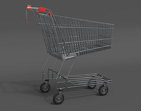 cart 3D model PBR Shopping Cart