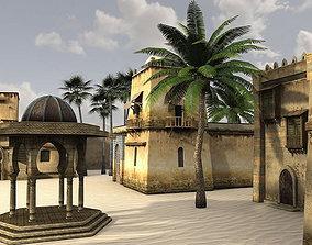 Desert Oasis 2 3D model