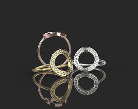 Ring for women Jewelry Ring 3D printable model