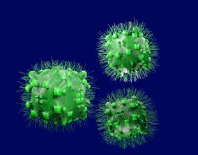 3D asset An Ordinary Virus