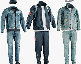 3D model Casual and Sport Clothing Collection