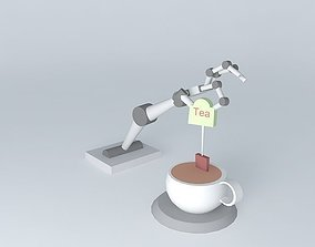 Robotic Tea Maker 3D