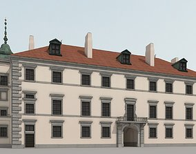 Early baroque palace 3d model