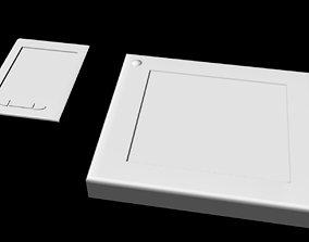 3D asset Sci-Fi Tablet Projector Gadgets untextured