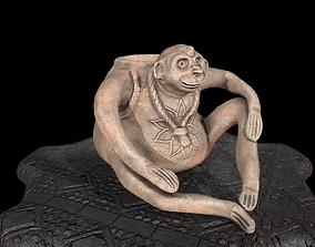 3D printable model Aztec mug pottery