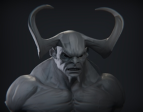 Demon Head 10 3D model