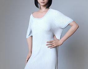MD Asian Female For G8F 3D