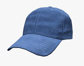 3D model game-ready PBR Baseball cap